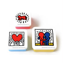 ASOKO  KEITH HARING FOOD CONTAINER SET