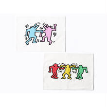ASOKO  KEITH HARING LUNCH MAT 2PCS SET