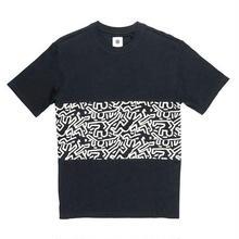 ELEMENT Keith Haring Big Panel T-shirts Black