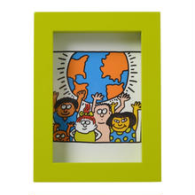 Framed Postcard  額装ポストカード (World)