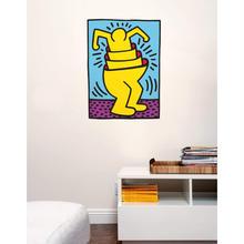 BLIK  Keith Haring  Nesting Man Wall Sticker