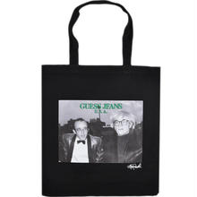 GUESS GREEN LABEL Keith & Andy Tote Bag (Black)