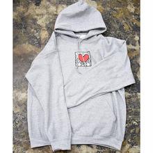 Nouno Keith Haring Icon Parka  <Gray / Holding Heart> KH-NN1719