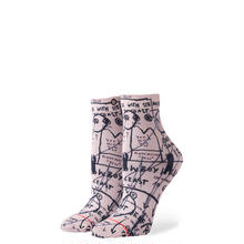 STANCE × BASQUIAT MOSTLY OLD LADIES SOCKS