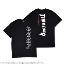 Thrasher × Keith Haring T-Shirts 2018 People Ladder (Black)