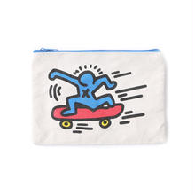 ASOKO  KEITH HARING POUCH (SKATER&BABY)