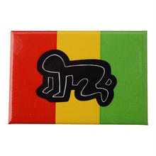 POP SHOP Keith Haring Baby Rasta Button
