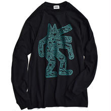 Nouno Keith Haring  ART Tee Long Sleeve  <Dog,1986> KH-NN1817