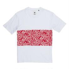 ELEMENT Keith Haring Big Panel T-shirts White