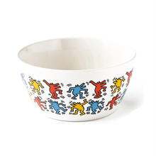 ASOKO  KEITH HARING  BOWL (DANCING DOG)