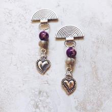 silver native heart pierce