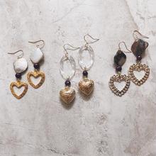 gold heart pierce
