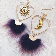 heart hoop purple far pierce