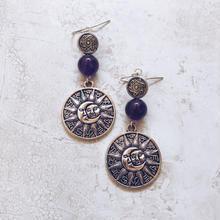 purple stone sunmoon pierce