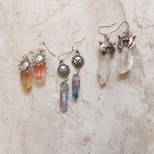 silver parts crystal pierce