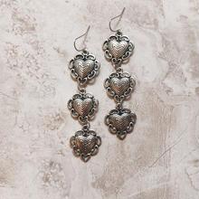 silver heart 3 pierce