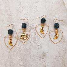 gold heart jasper pierce