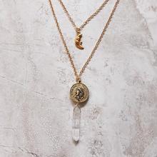 2連necklace gold