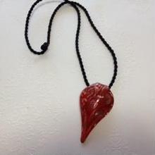 Pendant (Venetian glass - Red) ヴェネチアガラスのペンダント