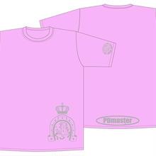 PD masterTシャツピンク【S】虎の巻付