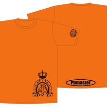 PD masterTシャツオレンジ【M】虎の巻付
