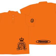 PD masterポロシャツオレンジ【S】虎の巻付