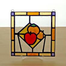 ステンドグラスパネル フルーツ Sサイズ