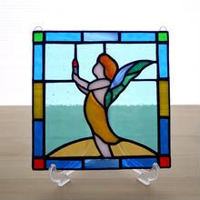 ステンドグラス ミニパネル フェアリー 15cm