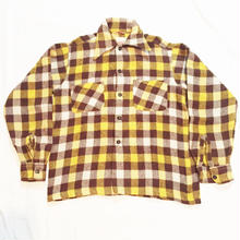 VINTAGE 40's wool shirt jacket