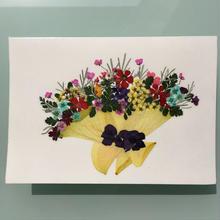 メッセージカード ブーケA02(2つ折り/封筒付)
