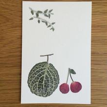 メロンとサクランボ (Postcard)