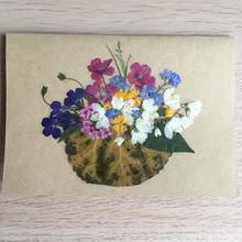 メッセージカード ブーケM02(2つ折り/封筒付)
