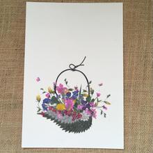 バスケットF01 (Post Card)