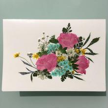 メッセージカード ブーケA01(2つ折り/封筒付)