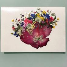 メッセージカード ブーケ・ルージュ(2つ折り/封筒付)