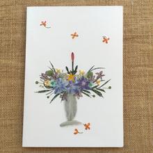 キャンドル(2つ折り/封筒付)
