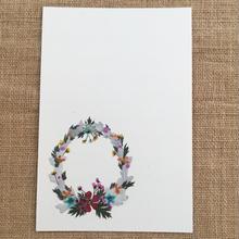 クリスマスリース (PostCard)