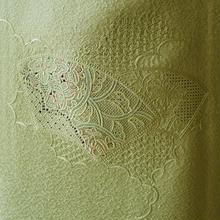 【単衣】柳色スワトウ刺繍