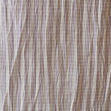 【夏・麻】淡紫色 細縞 小千谷縮
