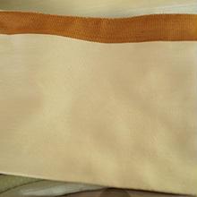 【半巾帯】リバーシブル縞半幅帯