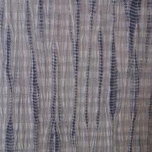【夏・紬】グレイトーンの縫い絞り夏紬