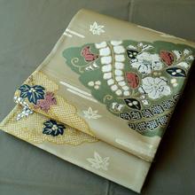 【ふくろ帯】桃山調 雲取り辻が花