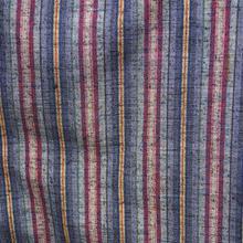 【単衣・アウトレット】 多彩な縞の紬