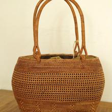 【籠】麻布つきアタバッグ