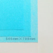 ブルー 14g  545mm × 788mm 50枚