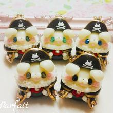 403.【オープンマウス】海賊バニーバックチャーム