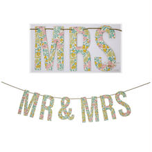 【MeriMeri】ガーランド/LIBERTYシリーズ /MR&MRS/Poppy&daisy [MM0101-45-2190]