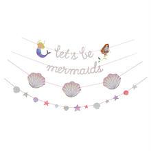 【Meri Meri】人魚姫ガーランド 約9.75m  Lets be mermaids (45-2733)