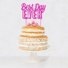 【Talking Tables】ケーキトッパー/BEST DAY EVER[TOPPER DAY]
