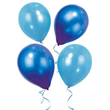 【Talking Tables 】風船/ブルーセット:30㎝2色バルーンが合計12個入り、5mリボン付き [TT0106-BLUE-BALL]
